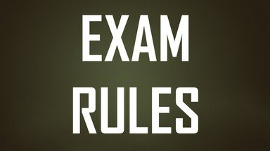 rtu-exam-rules